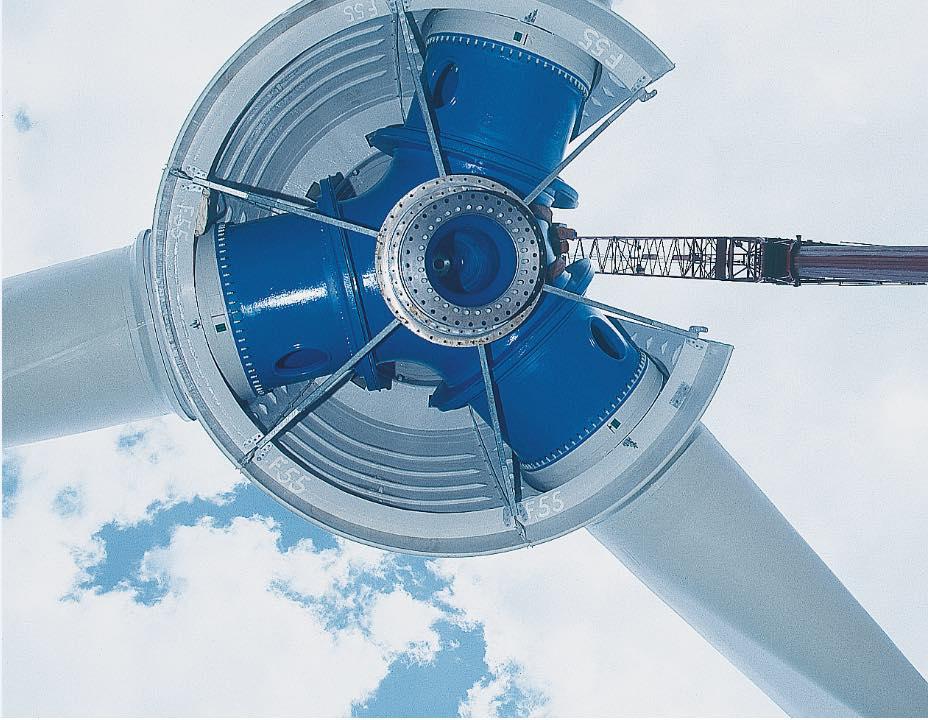 windrad Turbine von der umaag